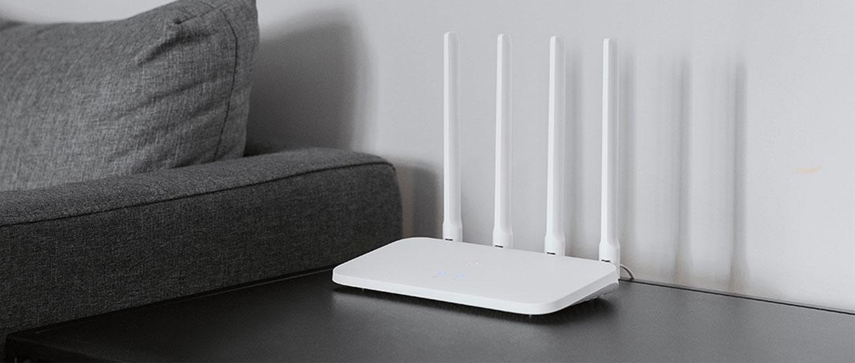 Xiaomi Mi Routeur 4C 2,4GHz 300Mbps 4 Antennes prix maroc