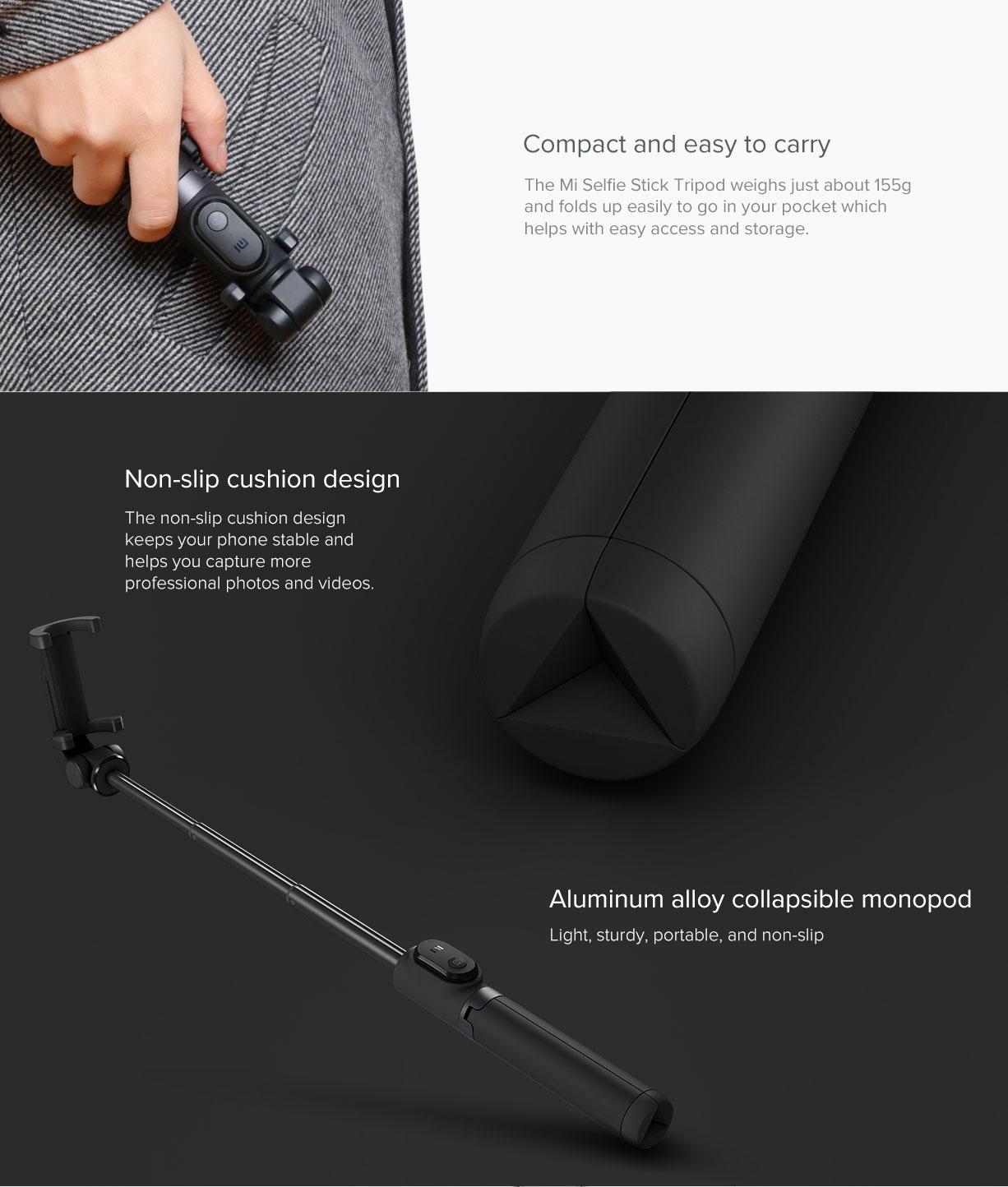 Xiaomi Stand Selfie Stick Black