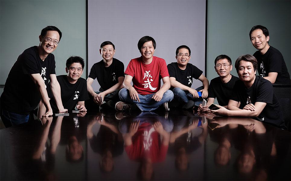 小米科技管理團隊