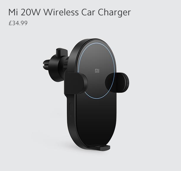 Mi 20W Wireless Car Charger