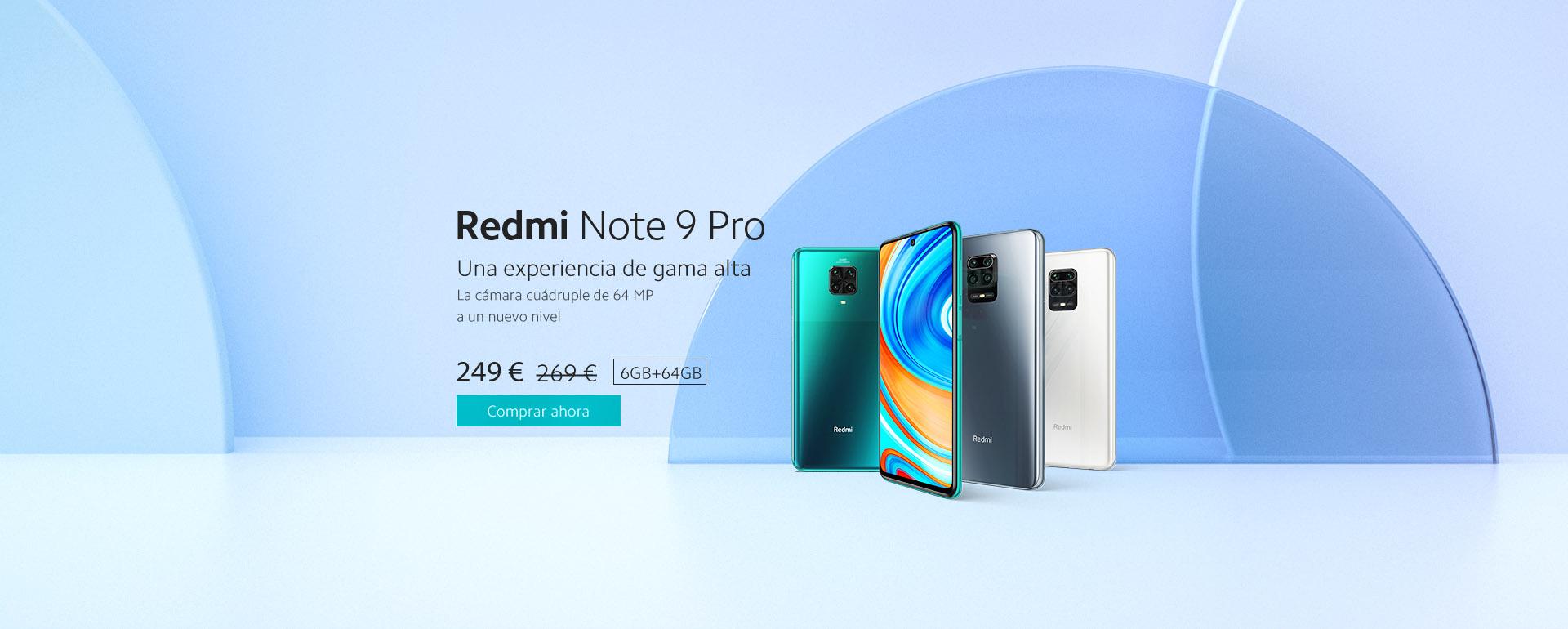 Redmi Note 9 Pro 6+64